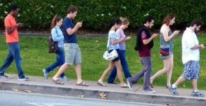 Texting and Walking